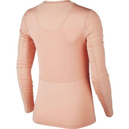 Dámské triko s dlouhými rukávy - Nike NP LS WARM HOLLYWOOD TOP W - 2