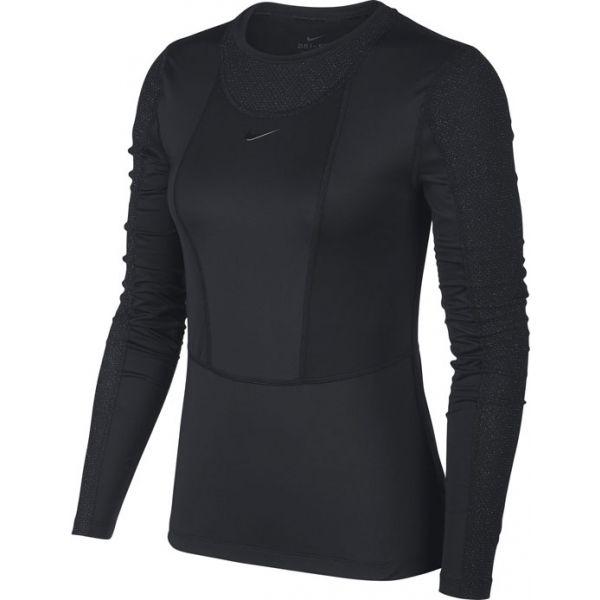 Nike NP PWARM HOLLYWOOD TOP W - Dámske tričko s dlhým rukávom