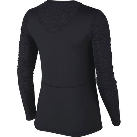 Dámské triko s dlouhým rukávem - Nike NP PWARM HOLLYWOOD TOP W - 2