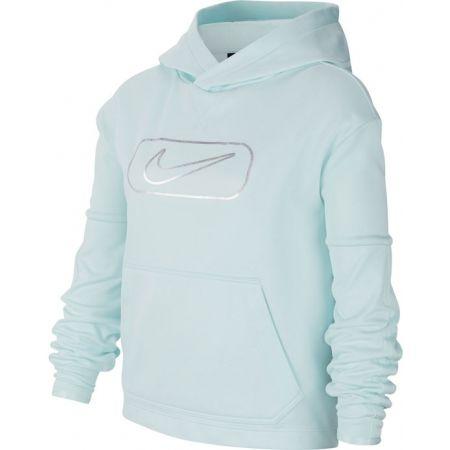 Nike THERMA PO GFX SHINE G - Dívčí mikina