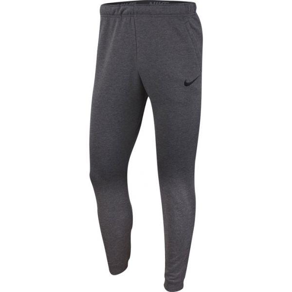 Nike DRY PANT TAPER FLEECE M ciemnaszary S - Spodnie treningowe męskie