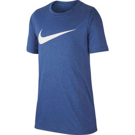 Chlapecké tričko - Nike DRY TEE LEG SWOOSH B - 1
