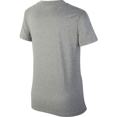 Dívčí tričko - Nike DRY TEE LEG VNECK SWOOSH G - 2