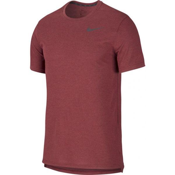 Nike BRT TOP SS HPR DRY M borszínű 2XL - Férfi póló