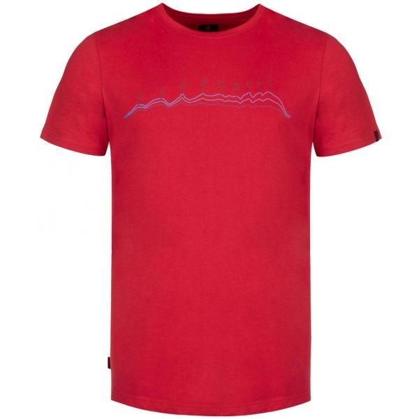Loap BENEDICT červená S - Pánské triko
