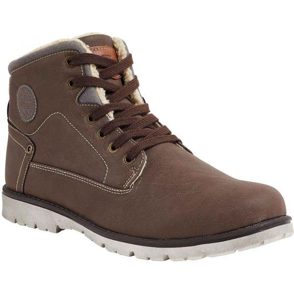 Willard HAZE hnedá 44 - Pánska zimná obuv