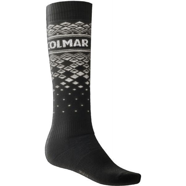 Colmar LADIES SOCKS čierna S - Dámske lyžiarske podkolienky