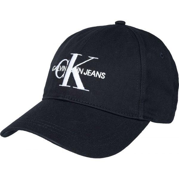 Calvin Klein J MONOGRAM CAP M černá  - Pánská kšiltovka