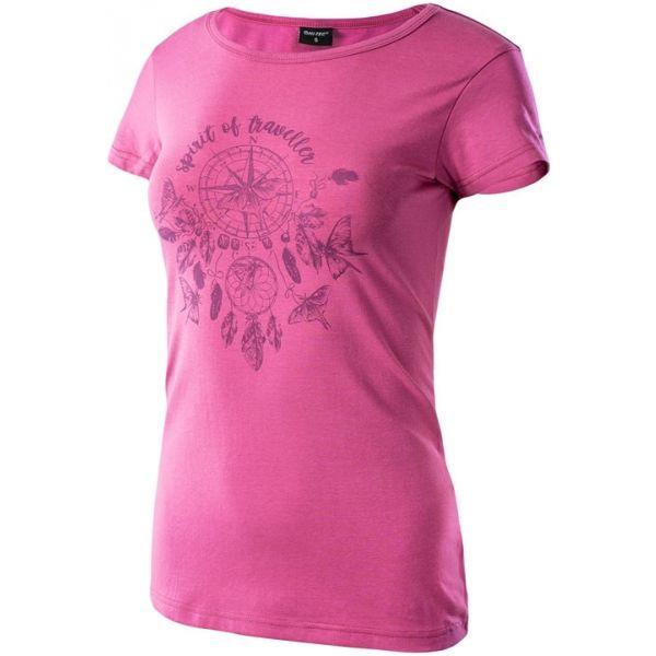 Hi-Tec LADY EBERRY rózsaszín M - Női póló