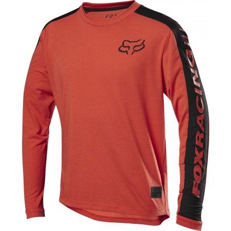 Fox RANGER DR LS JERSEY YTH - Detský cyklistický dres