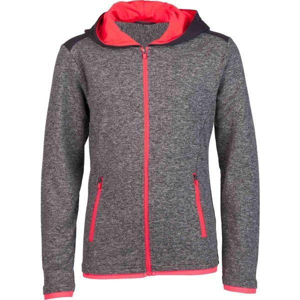 Lotto FLORA sötétszürke 152-158 - Lány pulóver