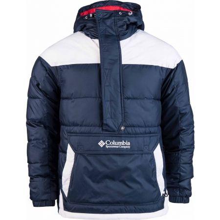 Pánska zimná bunda - Columbia LODGE PULLOVER JACKET - 1