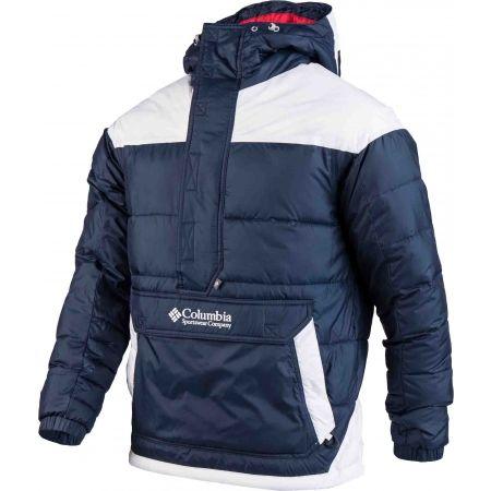 Pánska zimná bunda - Columbia LODGE PULLOVER JACKET - 2