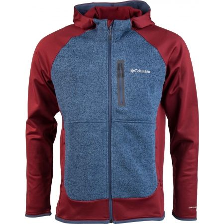 Columbia ALTITUDE ASPECT HOODED HYB.FL. - Bluza polarowa męska