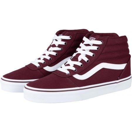 Women's ankle sneakers - Vans WM WARD HI - 2