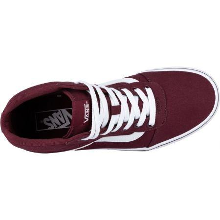 Women's ankle sneakers - Vans WM WARD HI - 5