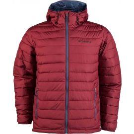 Columbia POWDER LITE HOODED JACKET - Pánska zimná bunda
