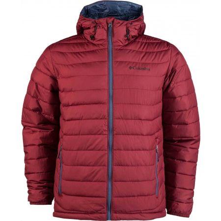 Pánska zimná bunda - Columbia POWDER LITE HOODED JACKET - 1