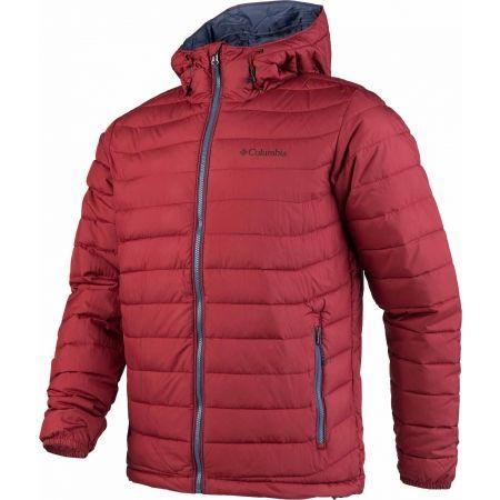Pánska zimná bunda - Columbia POWDER LITE HOODED JACKET - 2