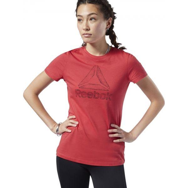 Reebok OPP DELTA piros XL - Női póló