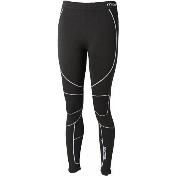 Mico LONG TIGHT PANTS WARM SKIN W fekete M-L - Női alsónadrág síelésre