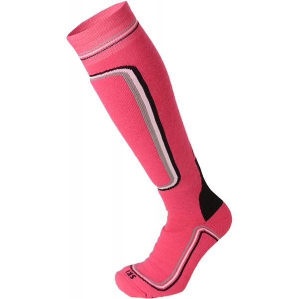 Mico HEAVY PRIMALOFT WOMAN SKI SOCKS W ružová L - Dámske lyžiarske ponožky