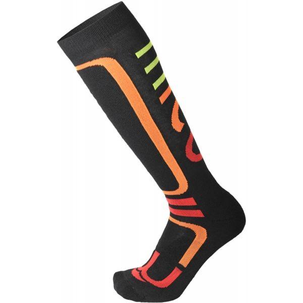 Mico MEDIUM PERFORMANCE SNOWBOARD SOCKS W čierna L - Dámske snowboardové ponožky