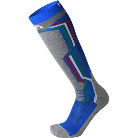 Mico MEDIUM WEIGHT ARGENTO X-STATIC SKI SOCKS - Lyžarské pnožky