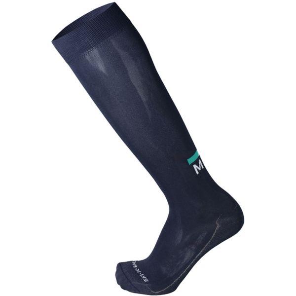 Mico EXTRALIGHT WEIGHT X-RACE SKI SOCKS tmavo modrá L - Lyžiarske ponožky