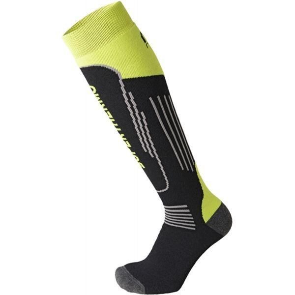 Mico SUPERTHERMO JR čierna L - Detské lyžiarske ponožky