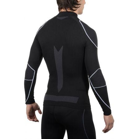 Мъжка функционална ски блуза (бельо) - Mico LONG SLEEVES MOCK NECK SHIRT WARM SKIN - 4