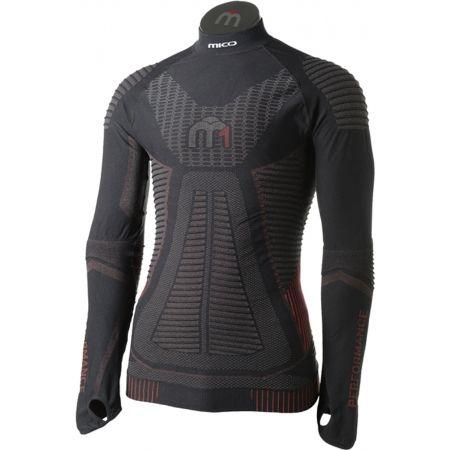 Mico LONG SLEEVES MOCK NECK SHIRT M1 - Мъжка функционална ски блуза
