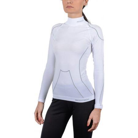 Dámské lyžařské spodní prádlo - Mico LONG SLEEVES MOCK NECK SHIRT WARM SKIN W - 2