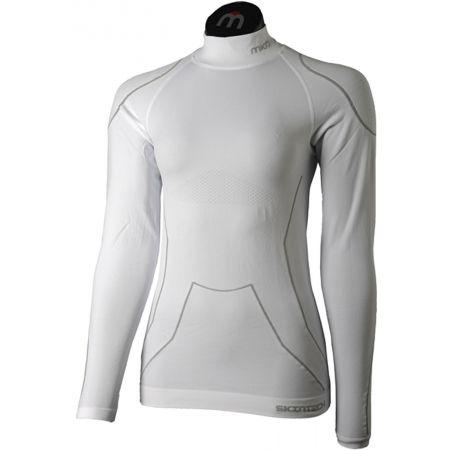 Mico LONG SLEEVES MOCK NECK SHIRT WARM SKIN W - Women's ski underwear