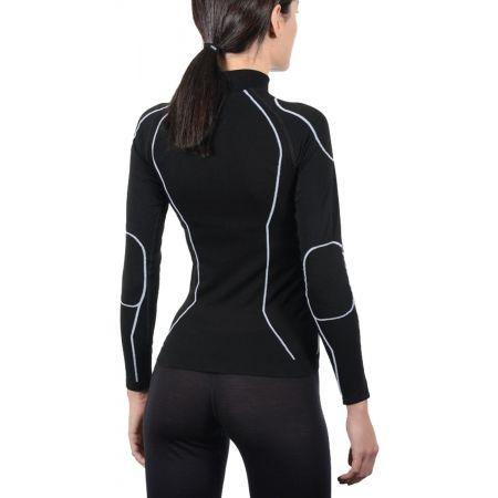 Dámske lyžiarske spodné prádlo - Mico LONG SLEEVES MOCK NECK SHIRT WARM SKIN W - 3