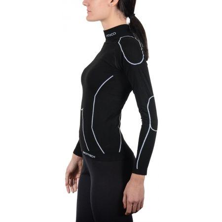 Dámske lyžiarske spodné prádlo - Mico LONG SLEEVES MOCK NECK SHIRT WARM SKIN W - 2