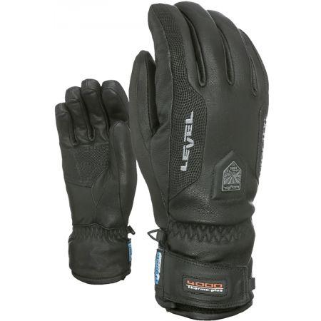 Pánské kožené rukavice - Level CAYENNE - 2