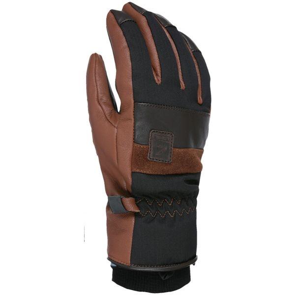 Level JOKER černá S - Kožené lyžařské rukavice