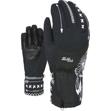 Dámské lyžařské rukavice - Level BLISS EMERALD GORE - 2