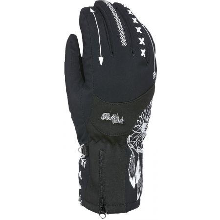 Dámské lyžařské rukavice - Level BLISS EMERALD GORE - 1