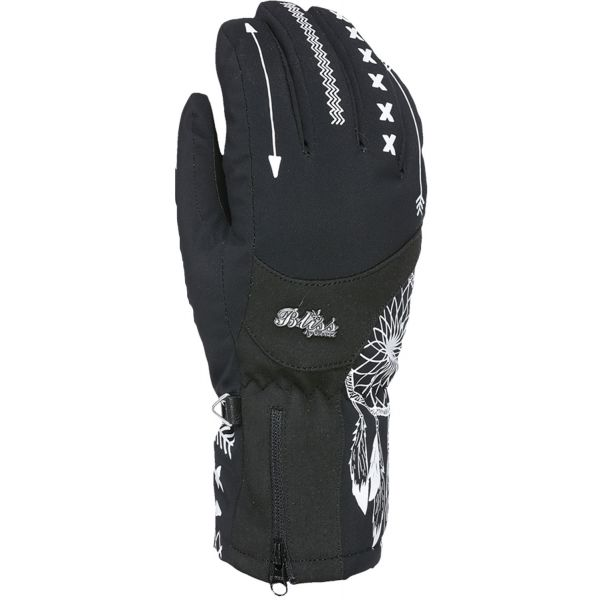 Level BLISS EMERALD GORE černá 6 - Dámské lyžařské rukavice