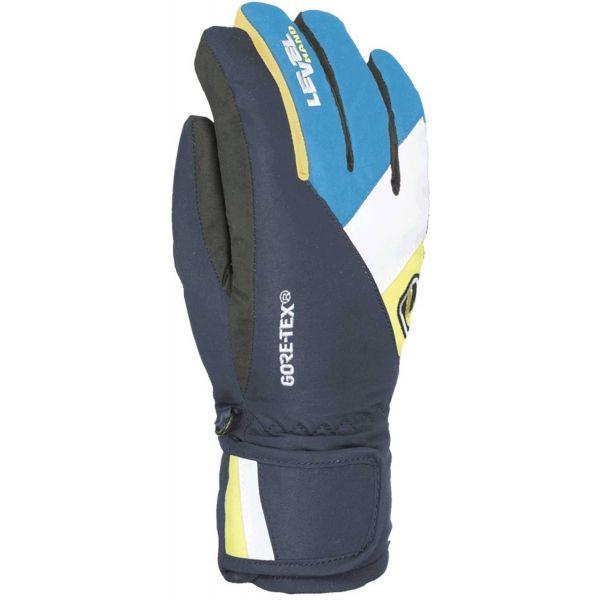 Level FORCE JR GORE-TEX modrá 6 - Dětské rukavice