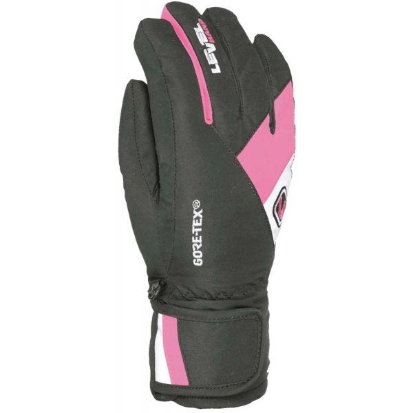 Level FORCE JR GORE-TEX černá 6 - Dětské rukavice