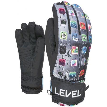 Detské lyžiarske rukavice - Level JUKE JR - 2