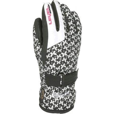 Level DARK JR - Kids' ski gloves