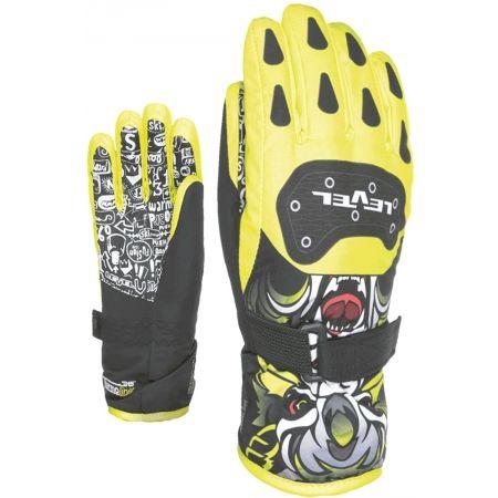 Kids' ski gloves - Level DARK JR - 2