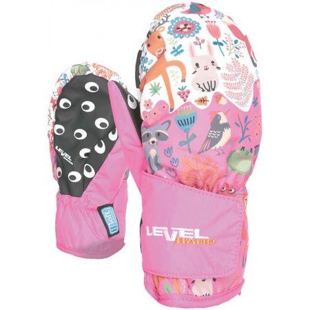 Dětské lyžařské rukavice - Level ANIMAL - 2