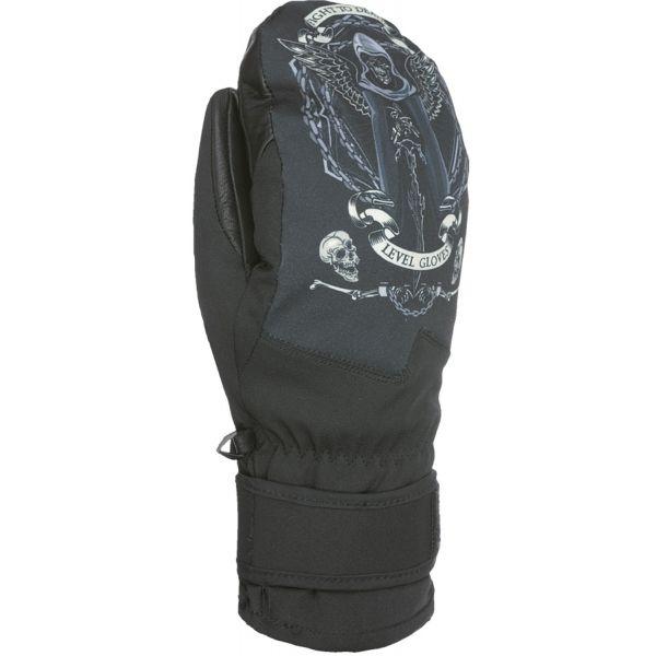 Level SPACE MITT černá 8 - Pánské snowboardové rukavice