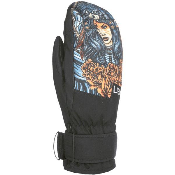 Level SPACE MITT zelená 7 - Pánské snowboardové rukavice