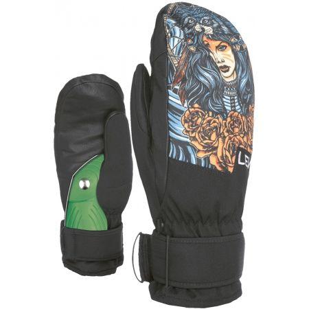 Pánske snowboardové rukavice - Level SPACE MITT - 2